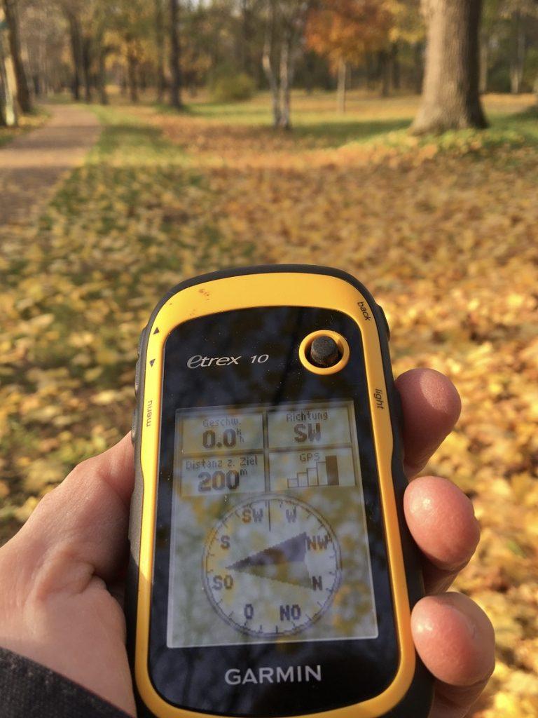 GPS ist wichtig beim Escape Room Outdoor