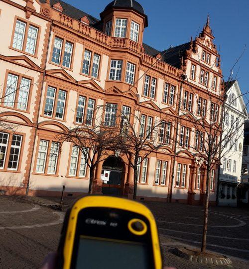 museum GPS klein